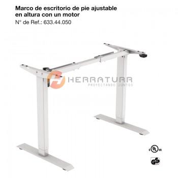Escritorio electrico Hafele elevable 1 motor - 633.44.050