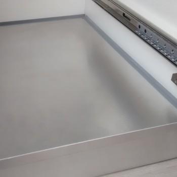 Piso de aluminio hafele modulo 1000 - 547.99.915