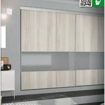 Kit de placard Classic 2 metros 2 hojas - CL200