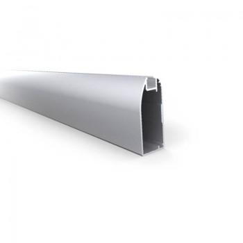 Perfil VENTO 20x45 para puerta de aluminio - 3 mts