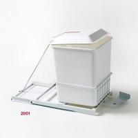 Porta residuos alto blanco - 2001