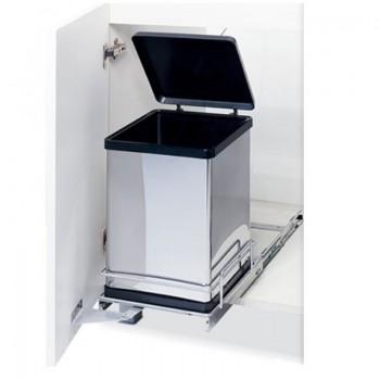 Porta residuos Acero Inox 20 Litros - 2001AC