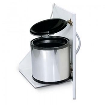 Porta residuos redondo 13 litros Acero Inox - 2003