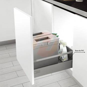 Conjunto de cestos doble Unihopper para interior de cajón M500